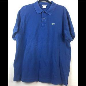 Lacoste polo shirt size large